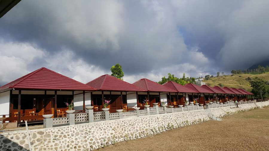 Hotel accommodation Sembalun Lawang Mount Rinjani